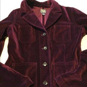Dark burgundy Lucky brand vintage jacket medium
